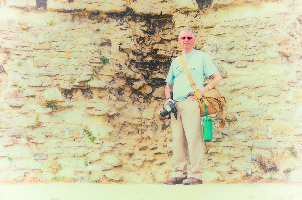 Photographer at Hadleigh Castle