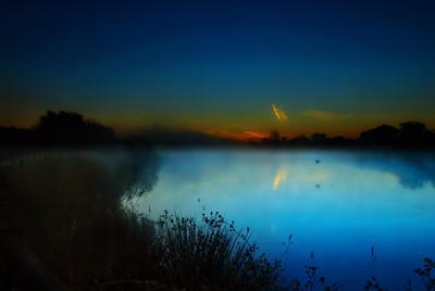 Canvas Mist at Dawn