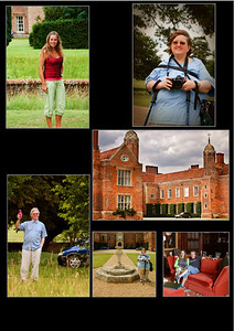 Long Melford Collage